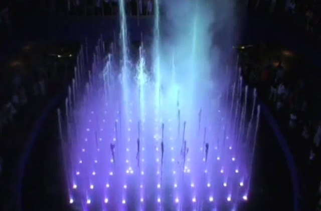 "Caesars Palace Fountain Show ""Fever"""